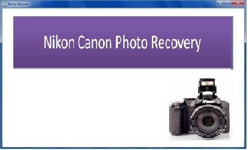 Tool to recover photos from Nikon Canon